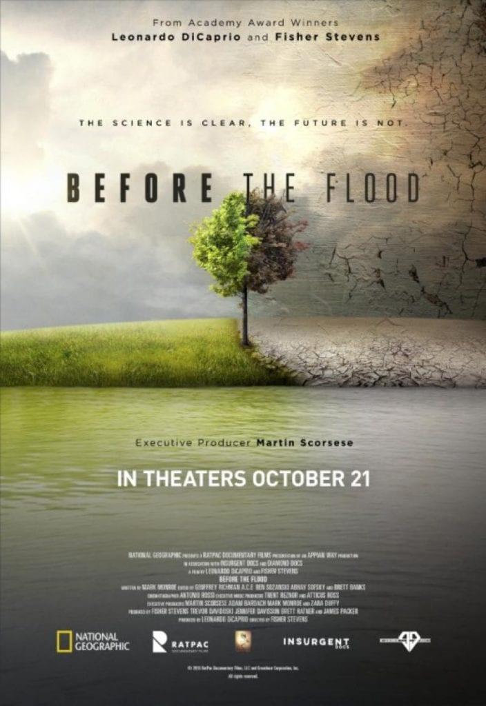 before the flood documentario cambio climatico