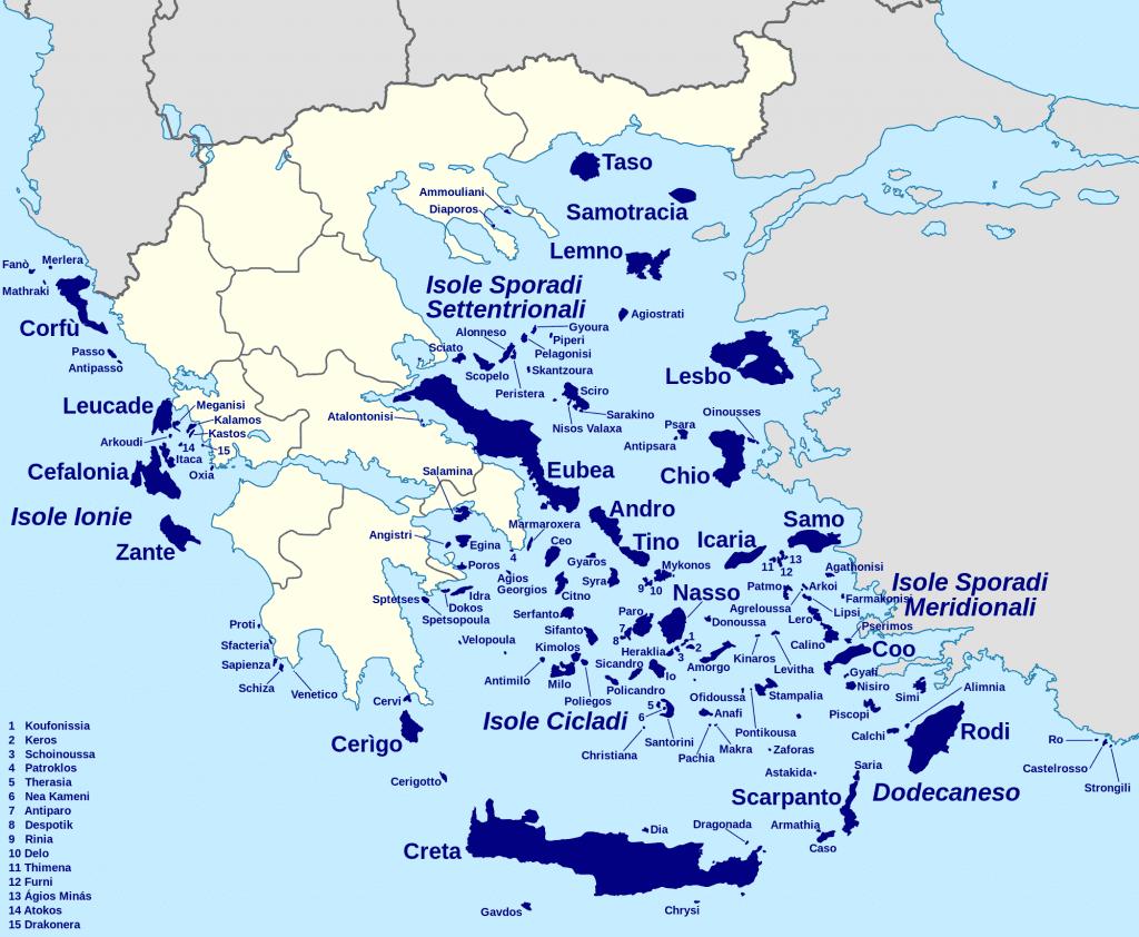 barca a vela grecia
