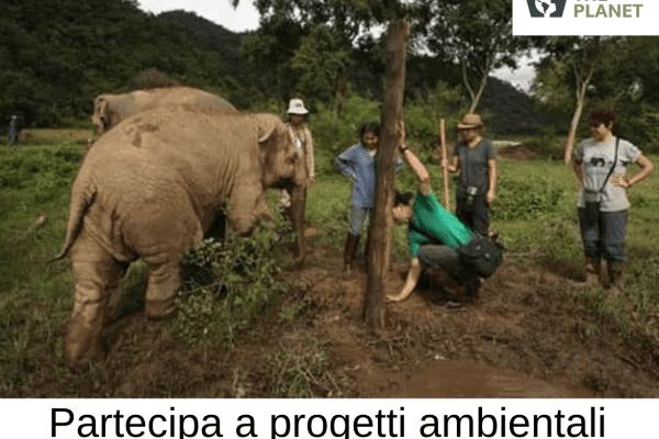 volontariato nei santuari naturalistici