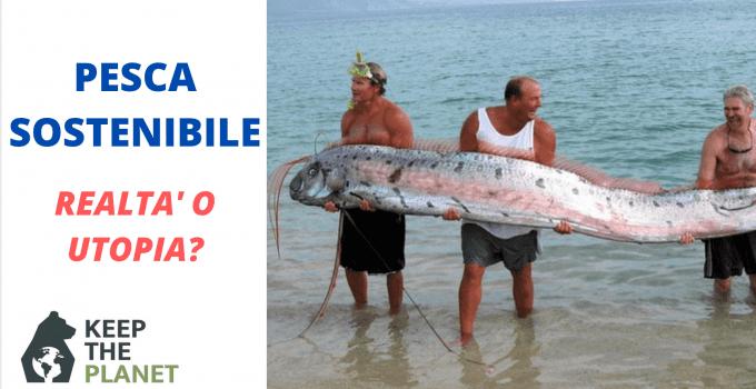 esiste la pesca sostenibile