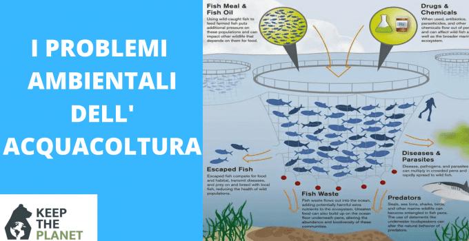 problemi ambientali dell'acquacoltura