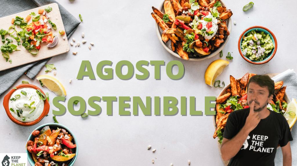 alimentazione sostenibile agosto